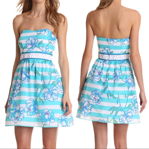 Lilly Pulitzer Women's Langley Strapless Dress